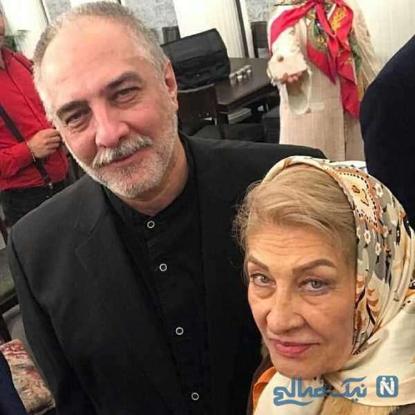 مادر ایرج نوذری بازیگر