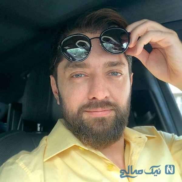 بهرام رادان هنرپیشه معروف