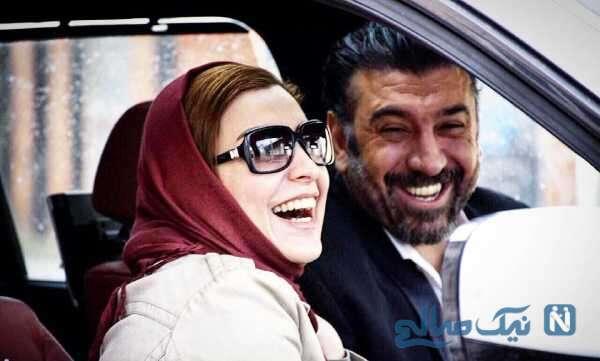 علی انصاریان و ماه چهره خلیلی در فیلم هدیه