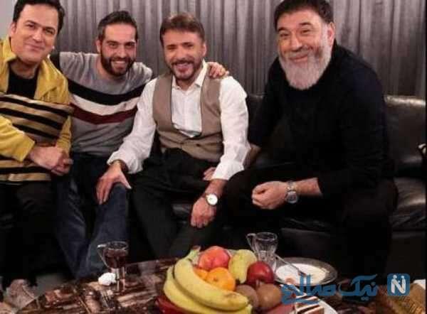 شام ایرانی در منزل علی انصاریان