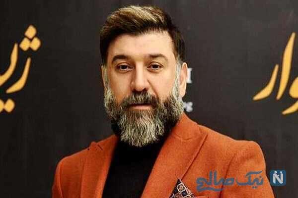 آرزوی علی انصاریان بازیگر مشهور سینما در شب تولدش
