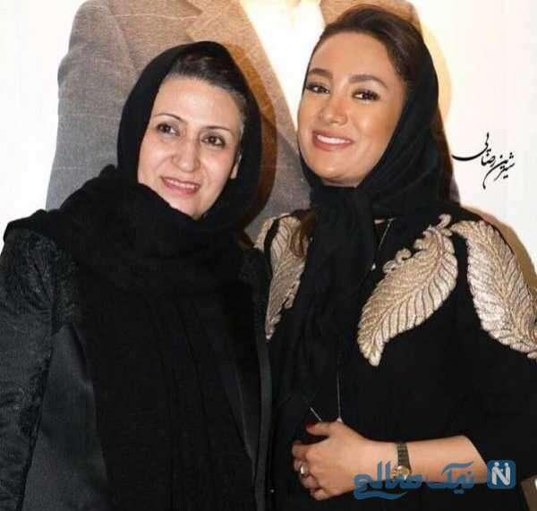 بهاره افشاری بازیگر سینما و مادرش