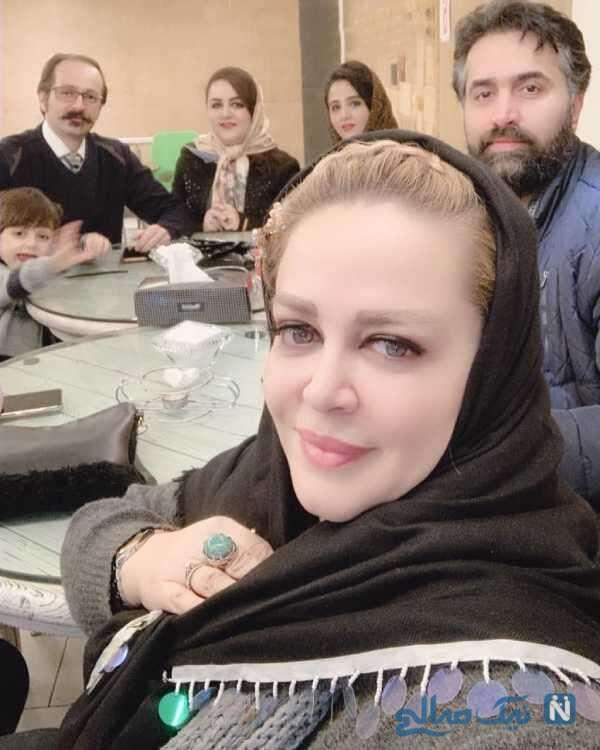 سلفی خانم بازیگر