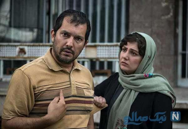 حرکت بهداشتی باران کوثری و حامد بهداد در جشنواره فجر