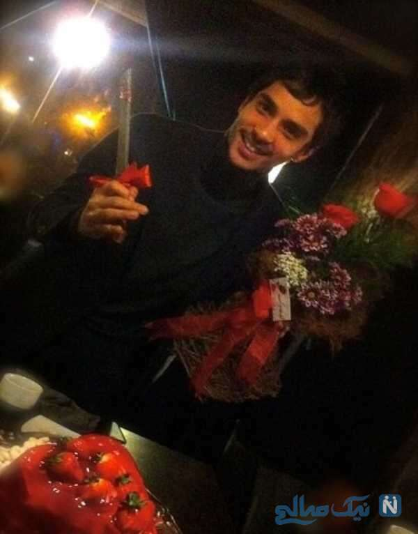 جشن تولد ساعد سهیلی