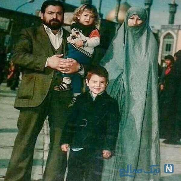 عکس خانوادگی زنده یاد انصاریان