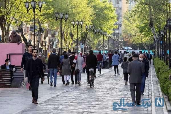 کاهش ویروس کرونا در ایران