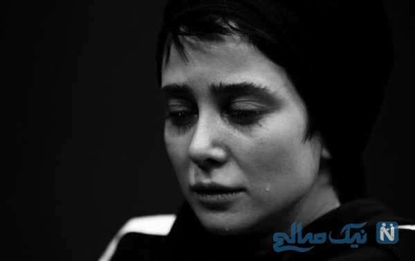 گریه الناز حبیبی بازیگر