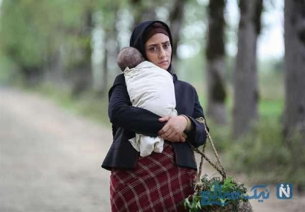 تصویری از الهام طهموری بازیگر سریال وارش