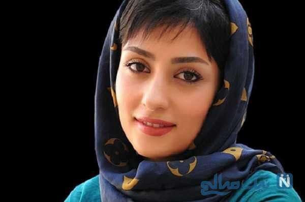 عکسی که الهام طهموری بازیگر سریال وارش از مادرش منتشر کرد
