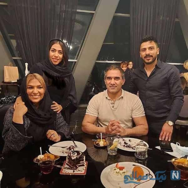 احمدرضا عابدزاده و خانواده اش