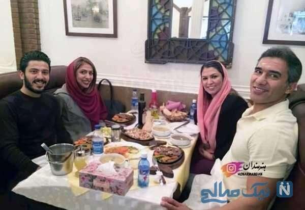 جالب ترین عکس خانوادگی احمدرضا عابدزاده