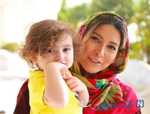 فریبا نادری و دخترش
