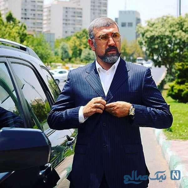علی انصاریان در سریال کیمیا