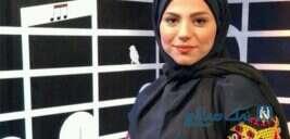 محیا اسناوندی مجری زن با نقابی زیبا در کیش