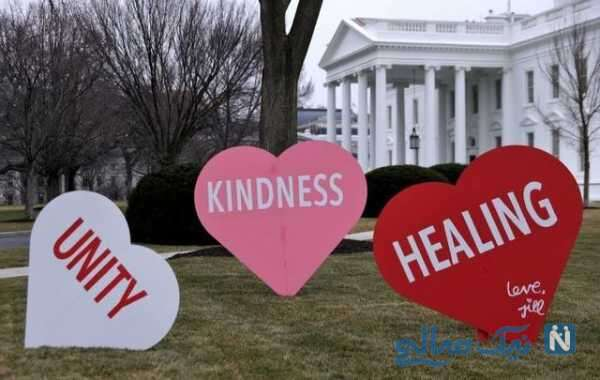 روز عشق بایدن و همسرش در کاخ سفید