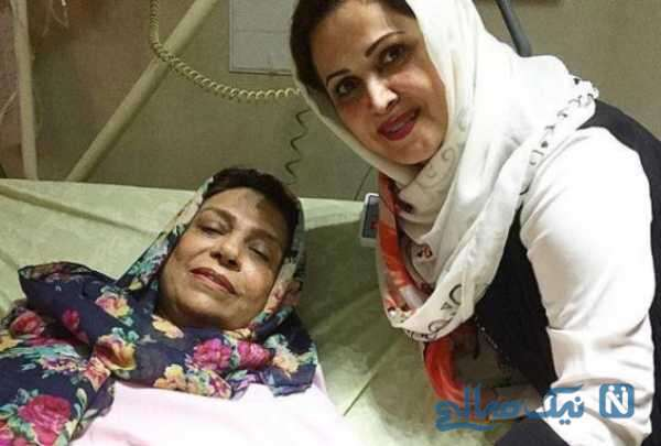 بستری شدن گوهر خیراندیش در بیمارستان