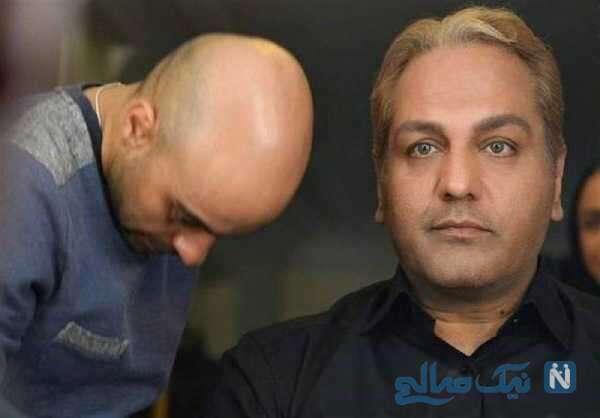 تصویری از گریم مهران مدیری
