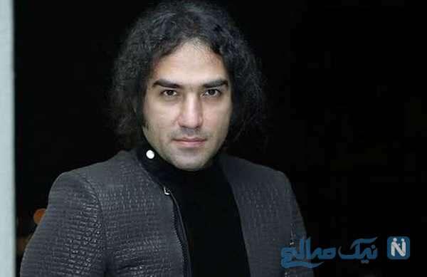 چهره عجیب رضا یزدانی خواننده معروف با تغییر رنگ و مدل موهایش