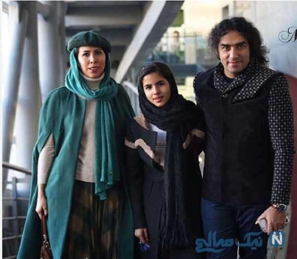 همسر و دختر خواننده ایرانی