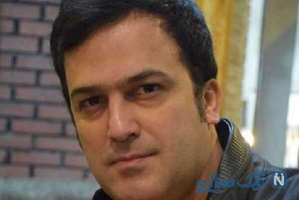 خاطره بغض آلود حامد آهنگی بازیگر از علی انصاریان در لبنان