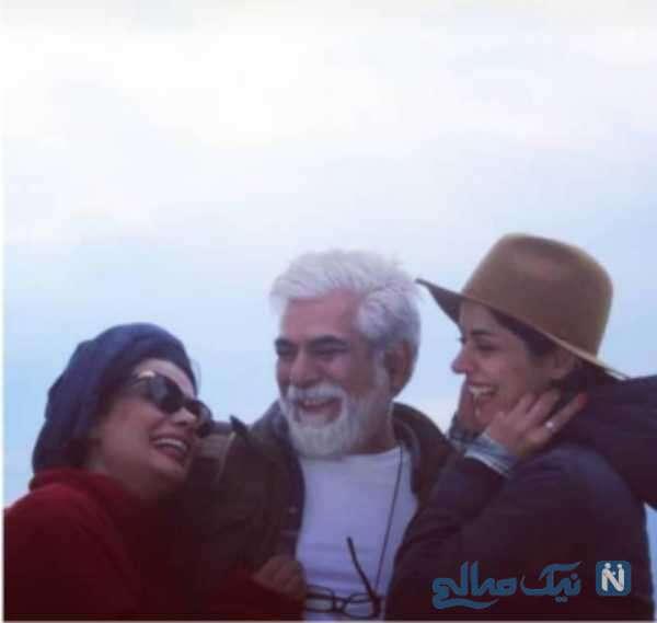 همسر و دختر حسین پاکدل