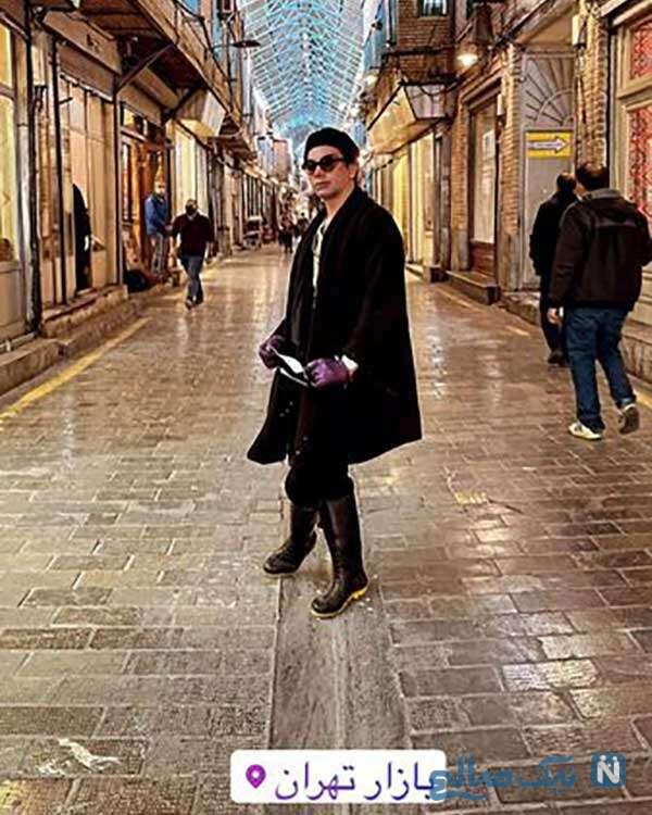 بازیگر مرد در بازار تهران
