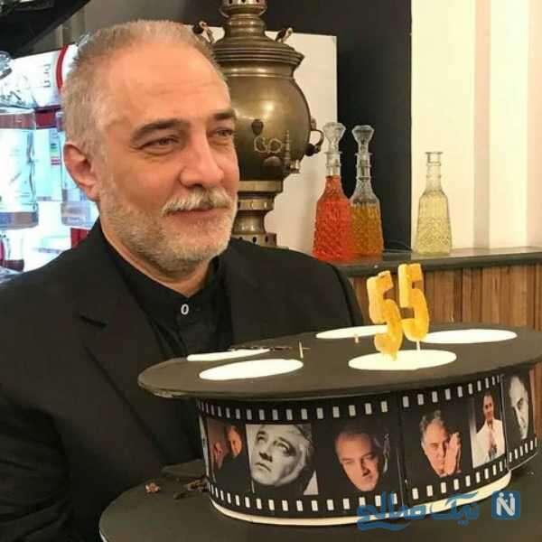تصویری از جشن تولد ایرج نوذری