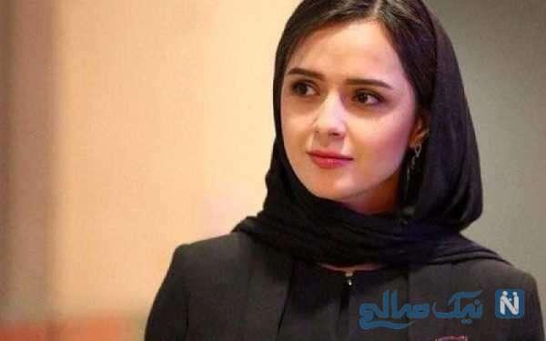 پیام احساسی ترانه علیدوستی بازیگر ایرانی برای آیناز دختری که سرطان دارد