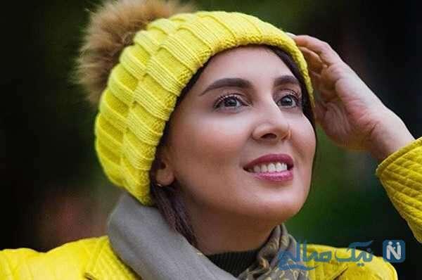 تبریک خاص لیلا بلوکات بازیگر سریال از سرنوشت برای مادرش