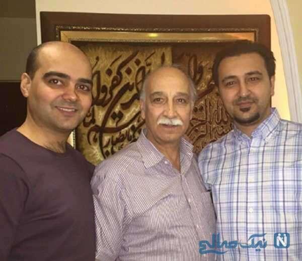 محمود پاک نیت و پسرش مسعود و مهرداد