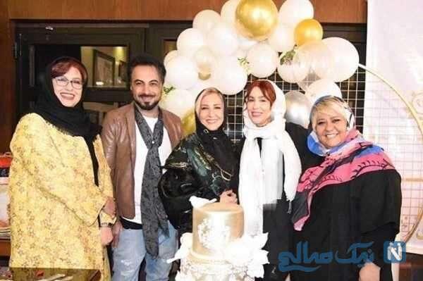 جشن تولد مرجانه گلچین بازیگر سینما