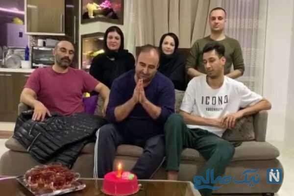 جشن تولد مهران احمدی بازیگر