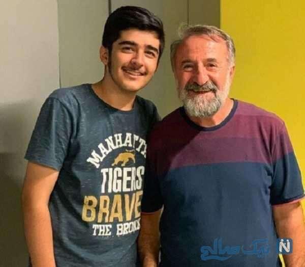 مهران رجبی و پسرش