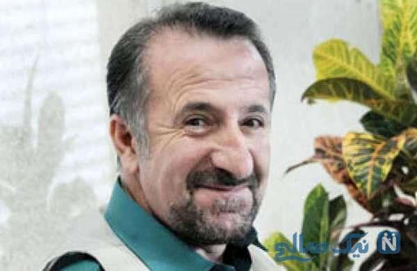 کاهش وزن شدید مهران رجبی بازیگر ایرانی بخاطر ابتلا به بیماری کرونا