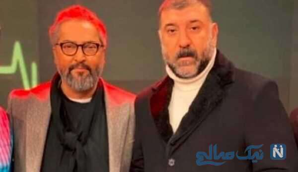 مرحوم مهرداد میناوند و علی انصاریان