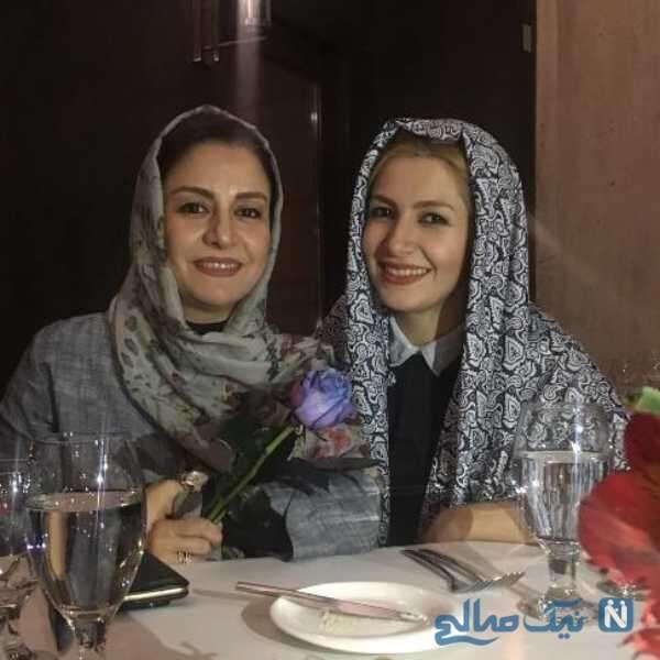 ملیکا زارعی مجری معروف و خواهرش