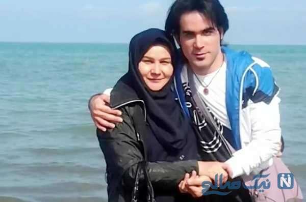 شباهت محسن یگانه به مادرش