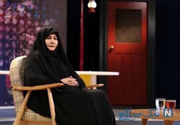 مادر خواننده ایرانی
