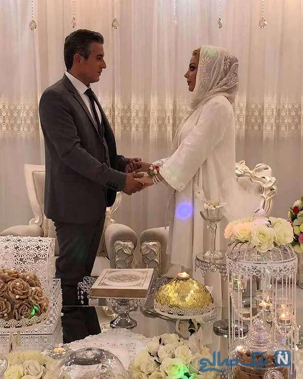 مراسم ازدواج بازیگر زن