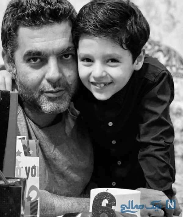 مصطفی کیایی و پسرش کارن