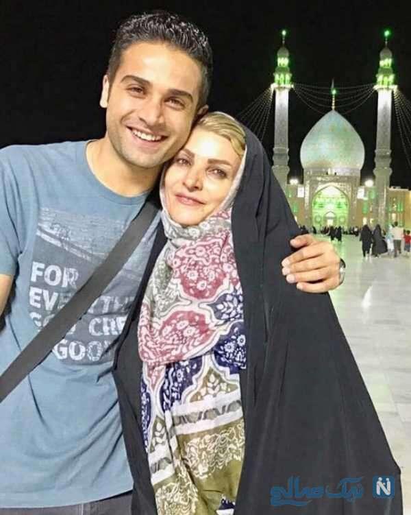 مادر آرمان درویش بازیگر معروف