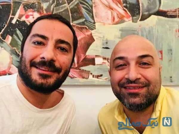نوید محمدزاده بازیگر معروف و برادرش