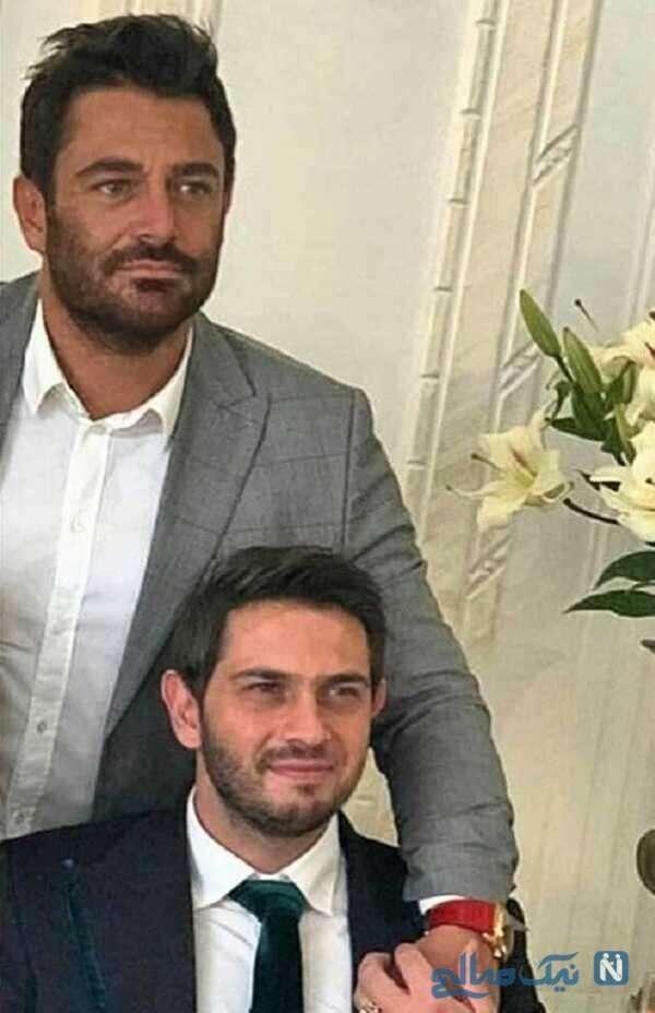 محمدرضا گلزار و برادرش