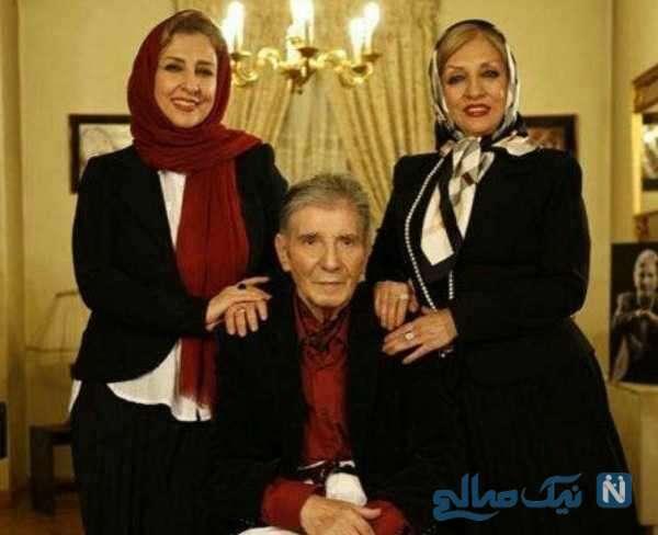 پدر و خواهر بازیگر معروف