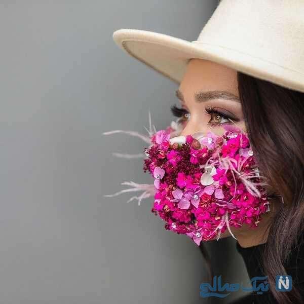 ماسک بسیار زیبای شهرزاد کمال زاده