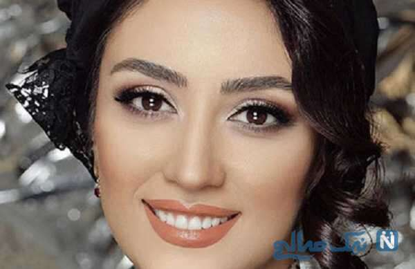 الهام طهموری بازیگر سریال شرم با استایل خاص لب دریا در گیلان