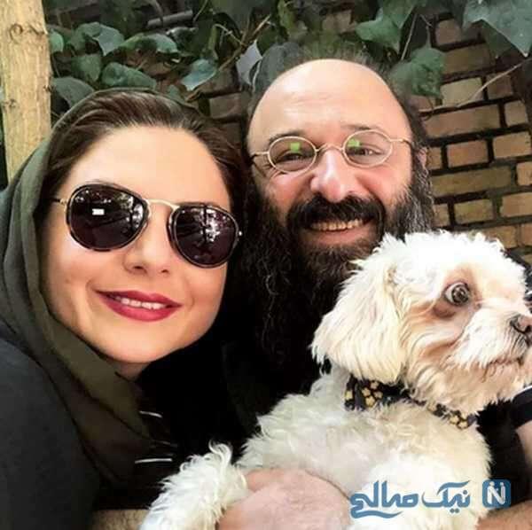 عکس سولماز غنی زاده و همسرش