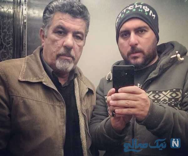 جالب ترین عکس محسن کیایی و پدرش