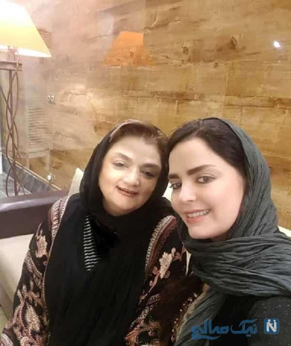 عکس مادر سپیده خداوردی بازیگر
